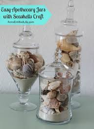 where to buy seashells apothecary jars with seashells a simple craft to display your