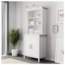 brusali high cabinet with doors brown ikea