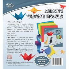 amazing origami models by craft for kids u2013 daves deals