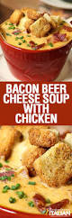 bacon beer cheese soup with chicken with new video