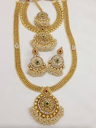 necklace sets design images Double necklace sets design 60 vasthra jewels jpg