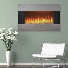 Electric Wall Fireplace Wall Mounted Fireplaces For Less Overstock