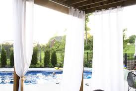 Outdoor Gazebo With Curtains by Curtains Window Treatments For Sliding Glass Doors Drapes