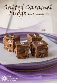 salted caramel fudge in 5 minutes find this pin and more on sweetened condensed milk recipes