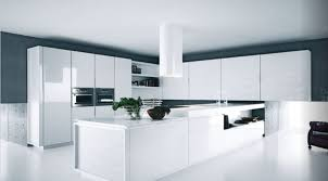 kitchen design idea white modern and minimalist cabinets norma