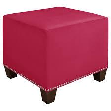 coffee tables splendid breathtaking red leather ottoman coffee