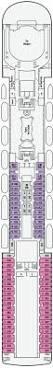 Sydney Entertainment Centre Floor Plan P U0026o Pacific Dawn Overview