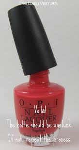 diy how to unstick a stuck nail polish lid u2013 the daily varnish