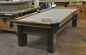 Custom Pool Tables by Dorset Custom Furniture A Woodworkers Photo Journal Another