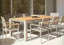chic 8 person outdoor dining table dining room the excellent ideas
