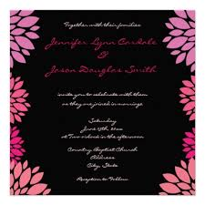 and black wedding invitations 51 best pink and black wedding invitations images on