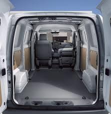 nissan van interior nissan e nv200 rear doors cronic nissan blog