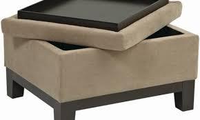 great modern ottoman with tray top for residence decor rinceweb com