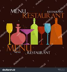 sample menu restaurant cafe stock vector 114357142 shutterstock