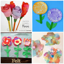100 tissue paper flowers for kids paper flower crafts for
