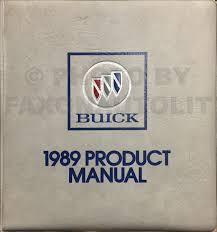 1989 buick century repair shop manual original