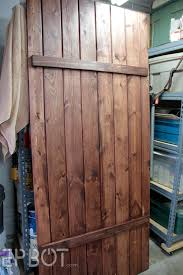 Sliding Barn Door For Home by Epbot Make Your Own Sliding Barn Door For Cheap
