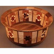 winchester woodworks segmented bowl 1292 artistic artisan wood