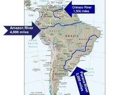 parana river map physical geography of america ppt