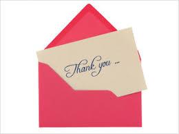 perfect thank you notes heartfelt and handwritten npr
