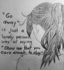 depression drawing quotes depressing art