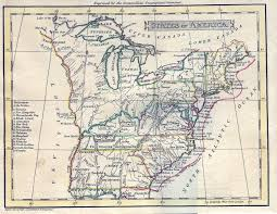Southwest United States Map by 1795 To 1799 Pennsylvania Maps