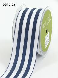 blue and white striped ribbon 2 inch solid stripes ribbon may arts wholesale ribbon