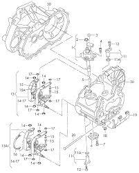 2003 volkswagen touran europe market gearbox switch unit selector