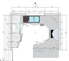 largeur plan travail cuisine largeur plan de travail cuisine 90 cm devant les aclacments