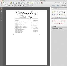 Destination Wedding Itinerary Download Edit And Print This Darling Free Wedding Itinerary