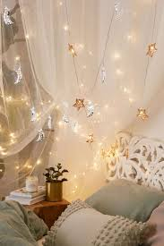 Bedrooms With Fairy Lights Star String Lights For Bedroom Photos And Video