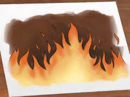 how to draw flames 14 steps with pictures wikihow