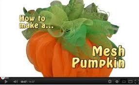 deco mesh pumpkin by trees n trends trendy tree