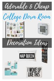 adorable and cheap college dorm room decoration ideas
