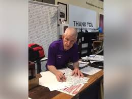 Picture Of Someone Sleeping At Their Desk Stores Full Of Furniture U0027mattress Mack U0027 Opens His Doors To Flood