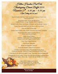 houston post oak thanksgiving dinner buffet uptown houston