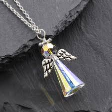 handmade angel necklace images Handmade swarovski earrings necklaces and bracelets aboo jewellery jpg