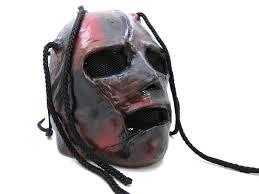 amazon com corey taylor slipknot halloween mask one size clothing