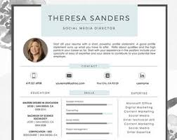 Reference Page Template Resume Resume Template Cv Template For Word And Pages The Jonothan