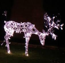pictures of outdoor light up reindeer 21 remarkable outdoor
