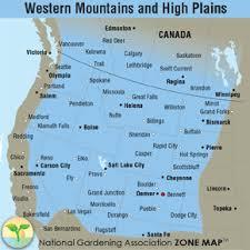 Gardening Zones Canada - region description western mountains and high plains garden org