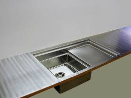 stainless steel countertop with sink stainless steel countertops brooks custom