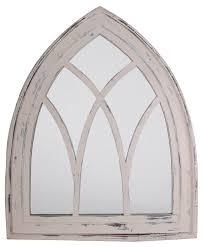 amazon com esschert design usa wd10 mirror gothic white wash