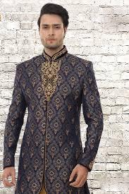 indian wedding sherwani buy online florida blue king khawab mens