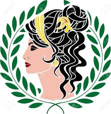 greek clipart goddess pencil and in color greek clipart goddess