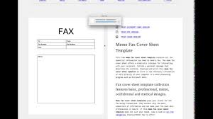 Fax Cover Letter Template Word 2007 by Customize Fax Cover Sheet Template Tutorial Youtube