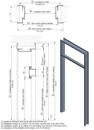 Average 3 Car Garage Size Door Dimensions Mm U0026 Front Door Size Cm Average In Mm Standard