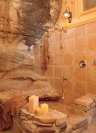 cave bathroom ideas what an awesome bathroom cave house cave living