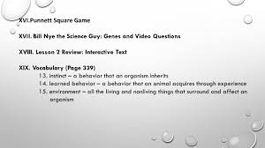 genetics and heredity life science standard 2 ppt download