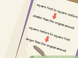 How To Convert Square Meters To Square Feet And Vice Versa
